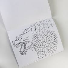 Dragon Legends 8 5 X 11 Coloring Book Minilou