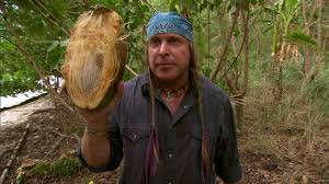 Cody vs. Joe: Opening a Coconut | Dual Survival | Discovery via Relatably.com