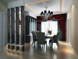 luxurious lighting ideas appealing modern house. sweety white fabrics seat arm chairs modern dining room table decorating ideas appealing big brown curtain design likable red fur rugs comely pendant luxurious lighting house h