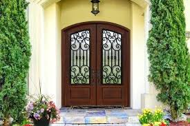 double entry doors introduces innovative composite arch lite double entry doors at standard double entry