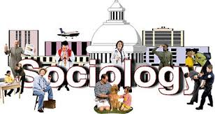 Image: showing sociology surrounded by different people.