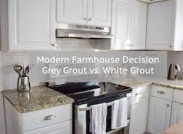white subway tile grey grout. Modren Grout You Have Made The Ultimate Modern Farmhouse Decision And Picked Subway Tile  As Your Kitchen Back Splash Congrats Your Parents Will Say Things Like U201cyou  Intended White Subway Tile Grey Grout K