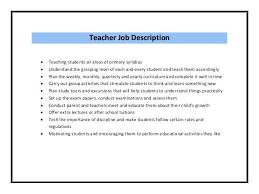 Resume Template For Teaching Job – Mklaw