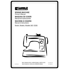 Kenmore 15358 Sewing Machine Manual
