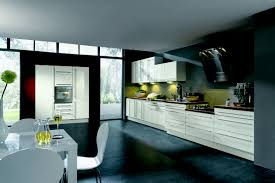white kitchen windowed partition wall: single line kitchen single line kitchen single line kitchen