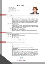 Resume Format 2016 Amazing Updated Resume Format 28 Updated Structure