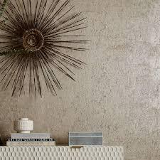 silver shimmer textured motif wallpaper