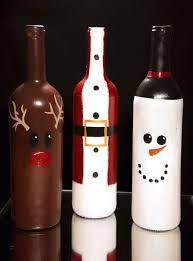 Recycled Wine Bottle Christmas Craft Idea  DebbiedoosWine Bottle Christmas Crafts