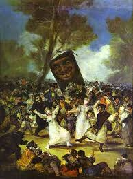 the burial of the sardine oil by francisco de goya 1746 1828