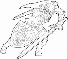 Small Picture Legend Of Zelda Coloring Pages akmame