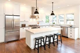dark wood floor kitchens wood floor white cabinets black and white kitchen wood floor home design
