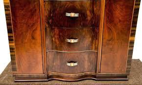 br art walnut dresser or antique chifferobe oak id f