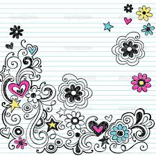 Flower Border Designs For Paper Designs On Paper Drawing At Getdrawings Com Free For Personal Use
