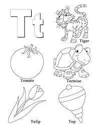 Small Picture My A to Z Coloring Book Letter T coloring page Download Free My