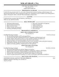 choose nurse aide resume