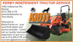 ontario rural routes 23 kerby independent tractor service your host s terry kerby phone 613 395 2176 leave a public review