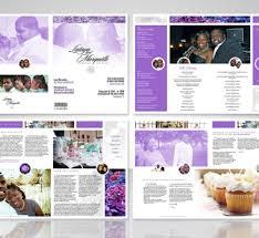 Wedding Program Designs Designs By Gary Young Wedding Program Design