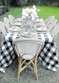 round outdoor tablecloth patio table best tablecloths beautiful throughout