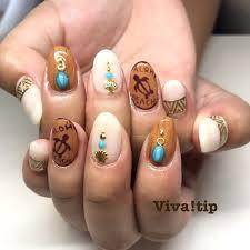 夏秋海ハンドワンカラー Vivatipビバティップのネイルデザイン