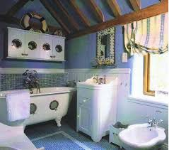 Nautical Bathroom Decorations In Nautical Bathroom Decor Ideas With Mirror Abov Tiny Vanityjpg