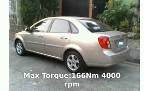 2009 Chevrolet Optra 1.6 L Features Transmission Speed Price Power ...