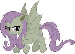 Flutter Shy Vampire Fruit Bat Ponies