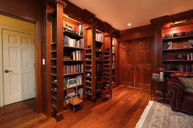 traditional hidden home office. Interesting Hidden Library With Sliding Hidden Compartments Traditionalhomeoffice Throughout Traditional Hidden Home Office O