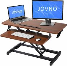 sit stand desk omax heigh adjustable