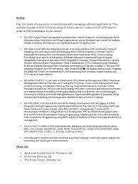 Resume For Apo Sample Invoice Software