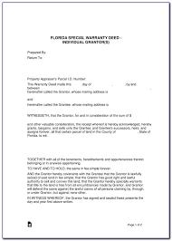 warranty template word florida warranty deed form word form resume examples n12qqjg2oq