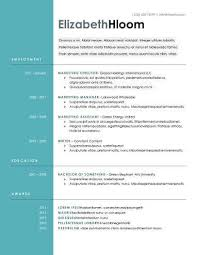 Modern Resume Layout Amusing Modern Resume Templates 64 Examples