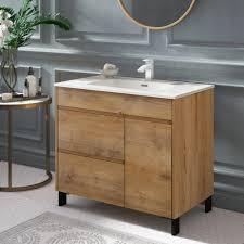 Wooden bathroom vanities do more than just housing the sink and offering storage. Wayfair Light Wood Bathroom Vanities You Ll Love In 2021