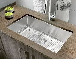 large kitchen sink. Quatrus R15 Stainless Steel Large Single Kitchen Sink R
