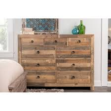kosas home hand crafted oscar natural recovered shipping pallets