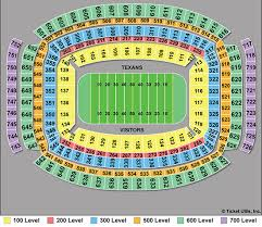 Complete Altel Stadium Seating Chart University Of Arkansas