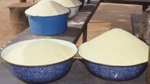 Image result for photos of fermented garri