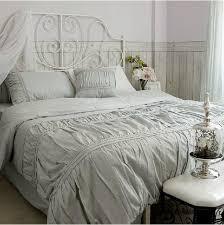 solid white comforter set whole bed in a bag vintage 100 cotton color 13