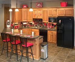 Basement Kitchen Bar Ohio State Themed Basement Kitchen Or Regular Kitchen Its Your