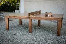 polite model 2 table2 wood ping pong table how to build a ping pong table