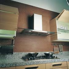 stove air vent. kitchen with modern range hood vent stove air