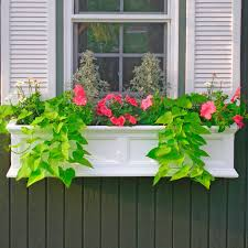 The Fairfield Window Box Planter includes mounting brackets.914139Signature  Hardware