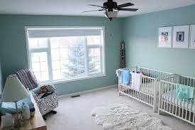 Wythe Blue Benjamin Moore Paint Ikea Gulliver Cribs Dutaillier