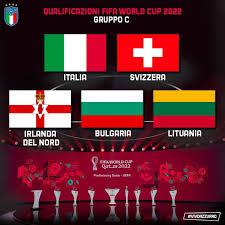 Qatar 2022 il girone Azzurro, l'Italia nel gruppo C | Irlanda del nord,  Qatar, Italia