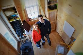 tiny house news. Jess Belhumeur And Dan Sullivan Have Plenty Of Room In Their Tiny Home. (Joanna House News N