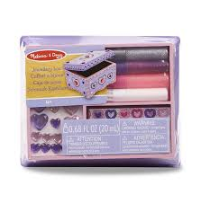 Melissa And Doug Decorate Your Own Jewelry Box Melissa Doug DecorateYourOwn Wooden Jewelry Box With Sparkling 13