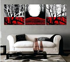 black white and red wall art vibrant inspiration red and black wall art popular 3 piece