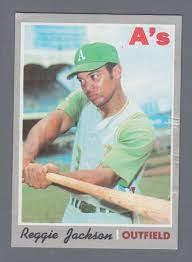 1973 Topps #255 Reggie Jackson Vintage ...