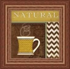 Coffee Decor For Kitchen Decorating Java Coffee Kitchen Wall Decor In Black Frame Things