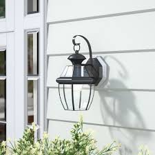 mellen 1 light modern outdoor wall lantern