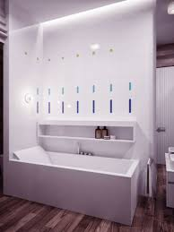 recessed lighting bathroom placement thedancingpa com awesome modern design ideas featuring cleanly white bath tub and